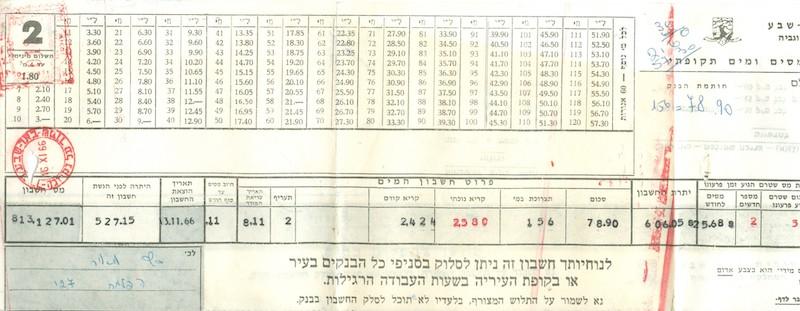 Lot 678 - Israel postal history -  Negev Holyland 93nd Holyland Postal Bid Sale